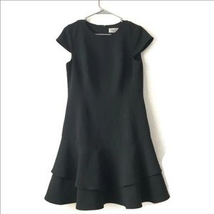 Eliza J Black Form Fitting Dress size 8